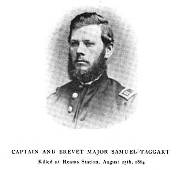 Captain Samuel Taggart, 116th Pennsylvania