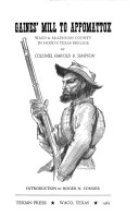 Gaines' Mill to Appomattox, Waco & McLennan County in Hood's Texas Brigade