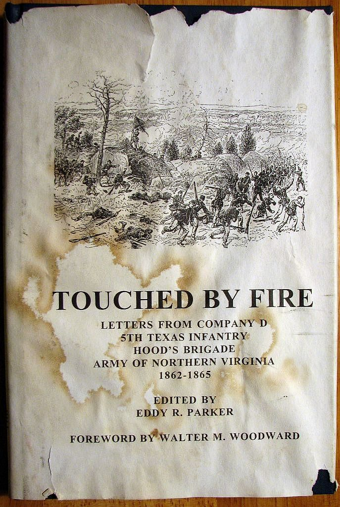 Touched by Fire- dust jacket