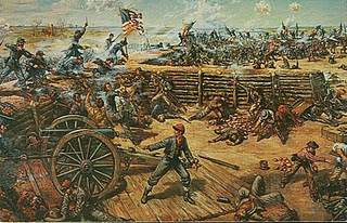 "The Battle of Fort Gregg Petersburg National Battlefield, Virginia ""Shoot and Be Damned"""