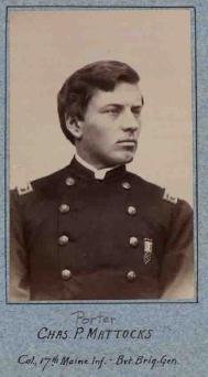 Charles P. Mattocks 17th ME