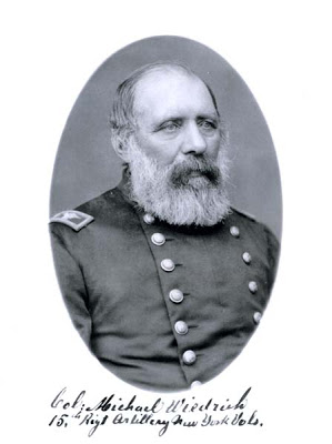 Lieutenant Colonel Michael Wiedrich 15th New York Heavy Artillery