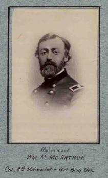 William M. McArthur 8th ME