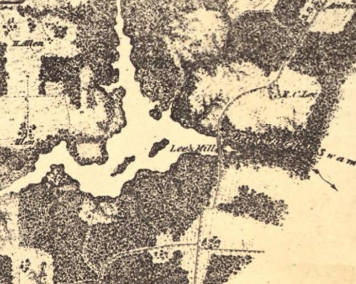 Skirmish At Lees Mill, July 30, 1864