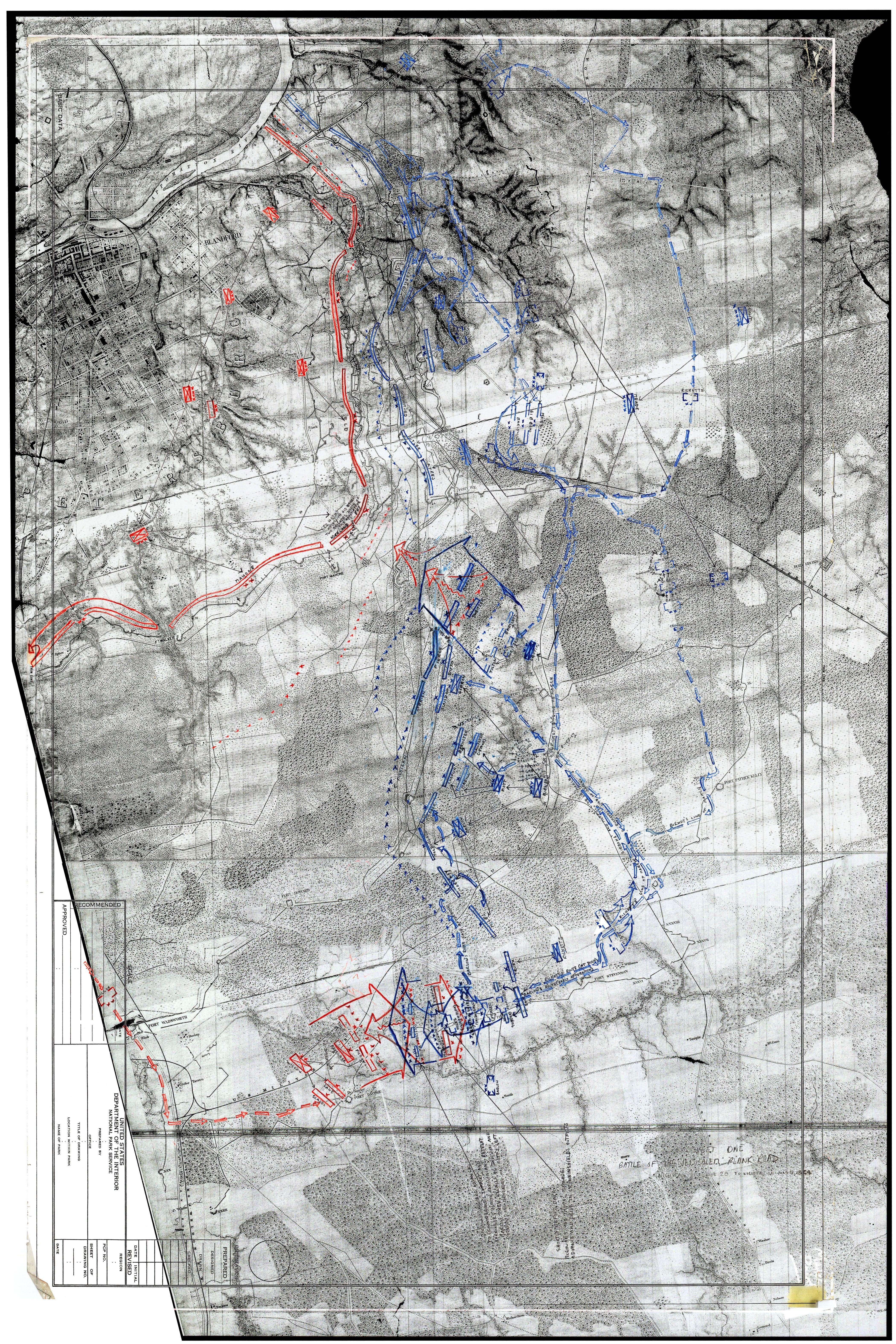 BEARSS MAP Battle of Jerusalem Plank Road June 2021 1864 Map 1