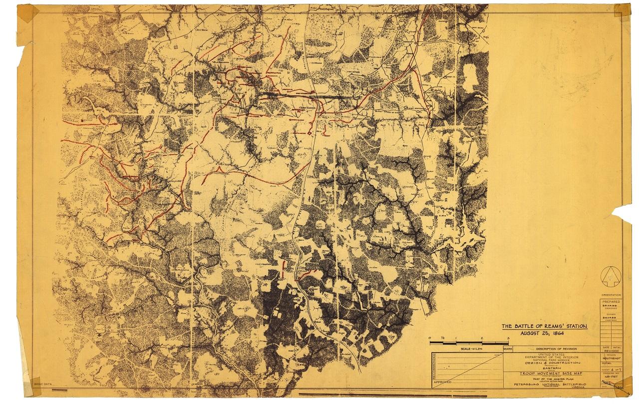 BEARSS Petersburg Maps REAMS Topo SMALL