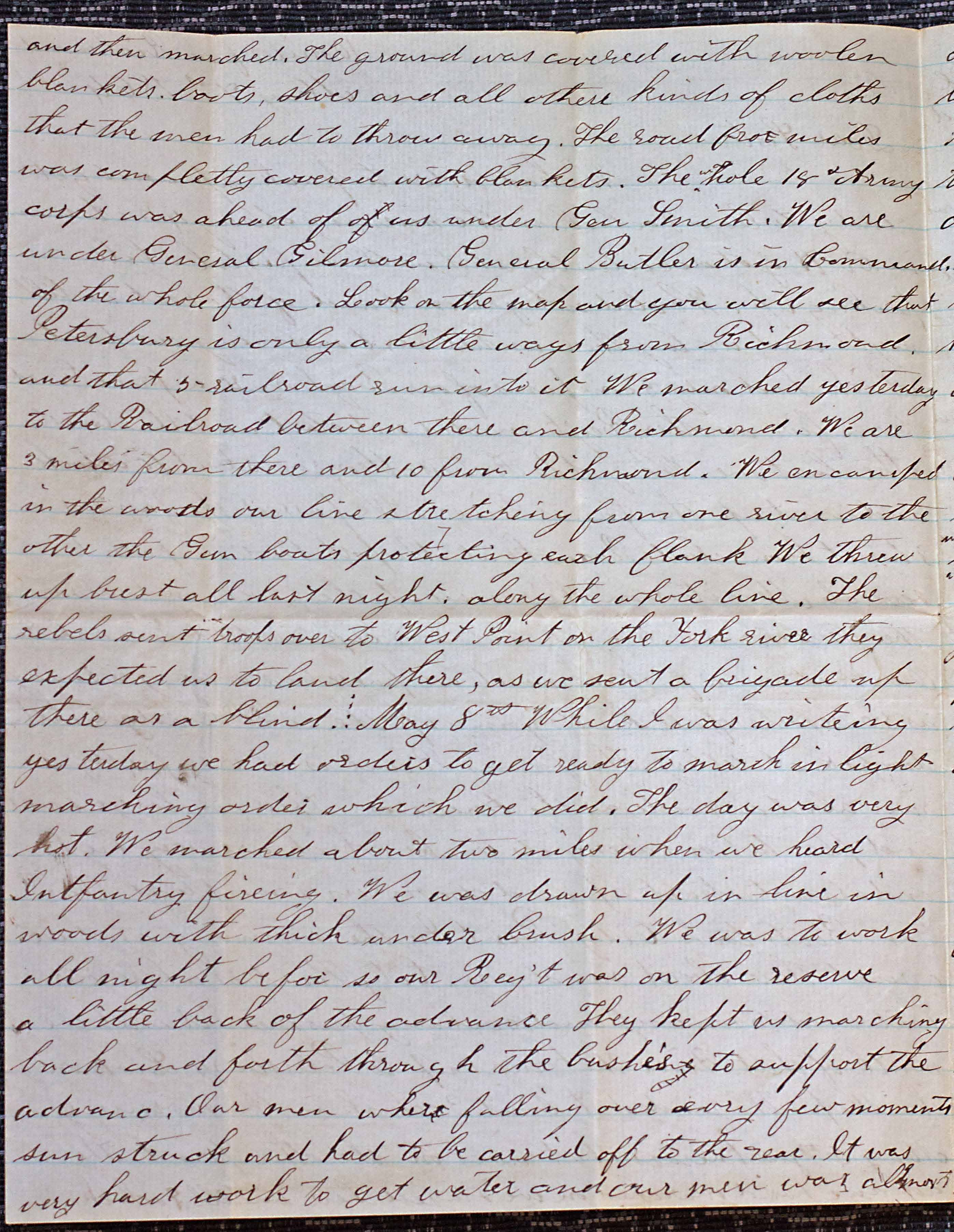 18640507 Elias Peck 10th CT Letter Page 2